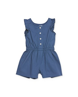 Sovereign Code - Girls' Ruffle-Sleeve Romper - Baby