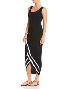 Bailey 44 - Pitcher Plant Tie-Dye-Hem Dress