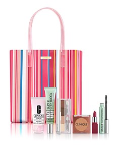 Clinique - Beach Bag Essentials Set for $29.50 with any Clinique purchase ($130 value)!