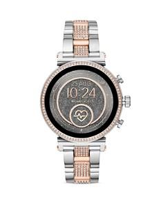 Michael Kors - Access Sofie 2.0 Pavé Two-Tone Link Bracelet Touchscreen Smartwatch, 51mm