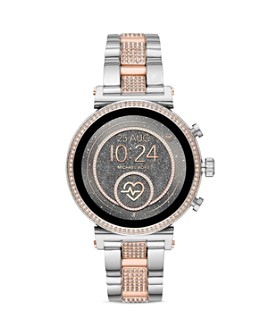 Michael Kors - Access Sofie 2.0 Pavé Two-Tone Link Bracelet Touchscreen Smartwatch, 51mm