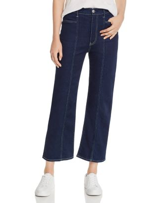 Albany High Rise Cropped Wide Leg Jeans In Dillon by 3x1