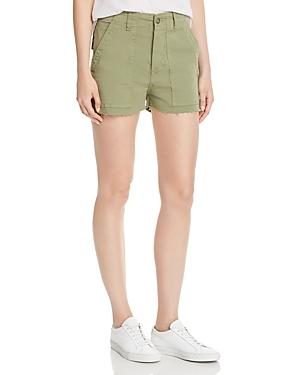 3x1 Shorts SIMONE RAW-EDGE UTILITY SHORTS