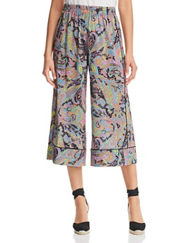 Le Gali - Danni Paisley-Print Cropped Pants - 100% Exclusive