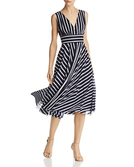Eliza J - Striped Midi Dress