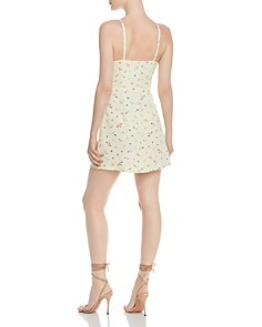 FRENCH CONNECTION - Whisper Floral-Print Mini Dress - 100% Exclusive