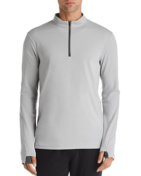 REIGNING CHAMP - Trial Long-Sleeve Quarter-Zip Tee