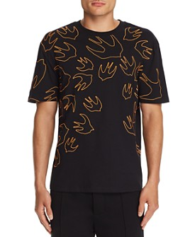 McQ Alexander McQueen - Embroidered Swallow Tee