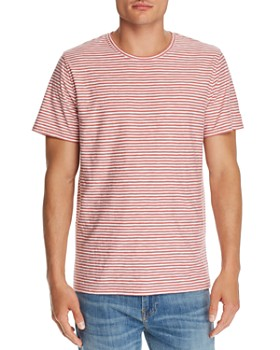7 For All Mankind - Reverse Feeder Striped Tee