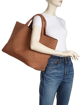 NAGHEDI - St. Barths Large Woven Tote