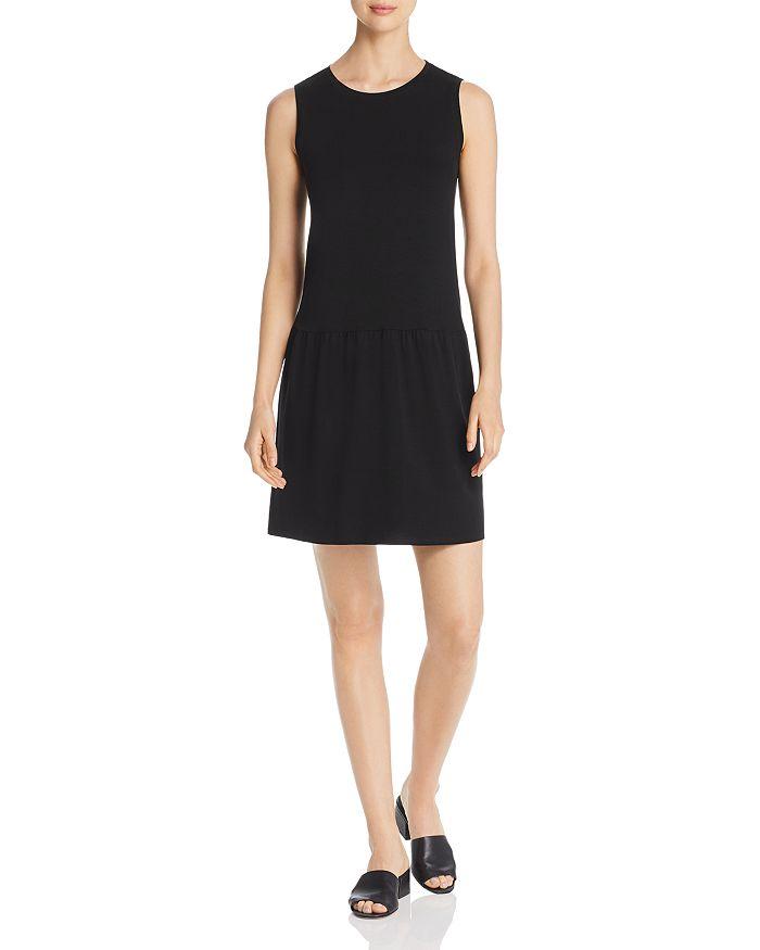 Eileen Fisher - Drop-Waist Tee Dress