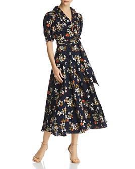 Jill Jill Stuart - Floral-Printed Wrap Dress