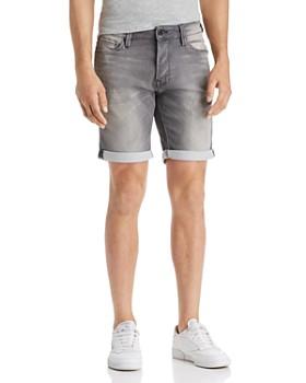 JACK + JONES - Icon Regular Fit Denim Shorts in Gray
