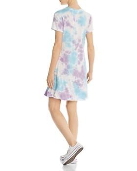 AQUA - Tie-Dye T-Shirt Dress - 100% Exclusive