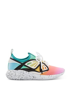 Sophia Webster - Women's Fly-By Rainbow Low-Top Sneakers