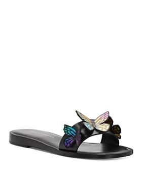 Sophia Webster - Women's Riva Butterfly Slide Sandals