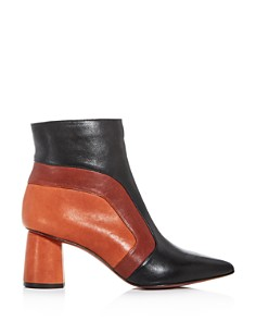 Chie Mihara - Women's Lupe Color-Block Pointed-Toe Booties