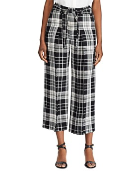 Ralph Lauren - Plaid Cropped Pants