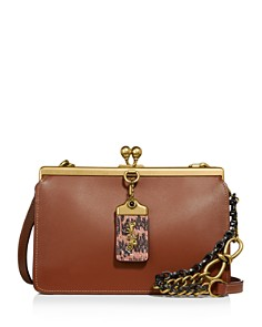 COACH - 1941 Exotic Details Small Double Frame Bag
