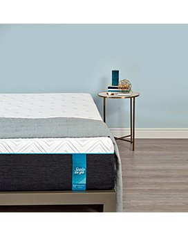 "Sealy - Sealy to Go 12"" Plush Memory Foam Mattress Collection"