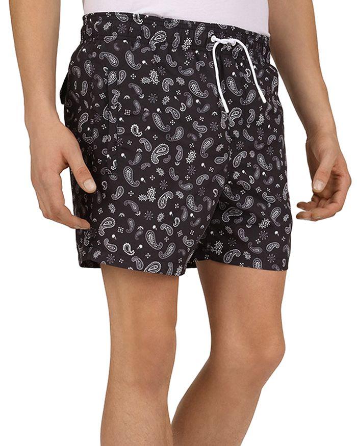 The Kooples - Bandana Print Swim Shorts
