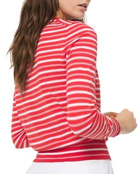 MICHAEL Michael Kors - Striped Crewneck Sweater