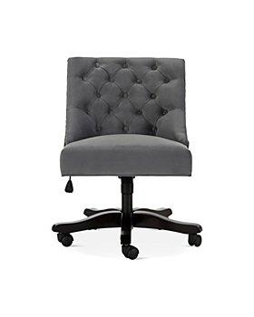 SAFAVIEH - Soho Tufted Velvet Swivel Desk Chair