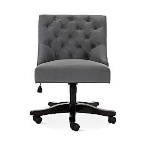 Safavieh Soho Tufted Velvet Swivel Desk Chair