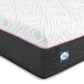 """Sealy Posturepedic - Sealy to Go 10"""" Cushion Firm Hybrid Twin Mattress Only"""