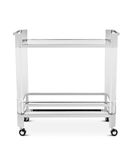 SAFAVIEH - Giannna Acrylic Bar Trolley