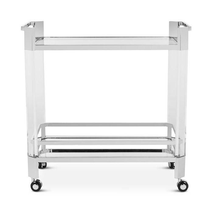 SAFAVIEH - Giannna Acrylic Bar Trolley