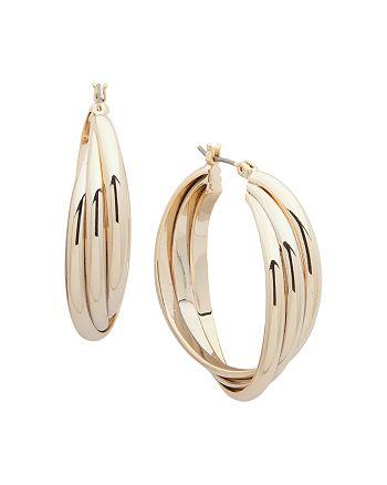 Ralph Lauren - Knot Hoop Earrings
