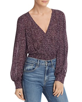 a39628f0dbd Purple Women's Tops: Graphic Tees, T-Shirts & More - Bloomingdale's