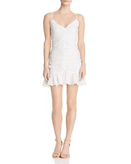 The East Order - Celine Ruched Mini Dress