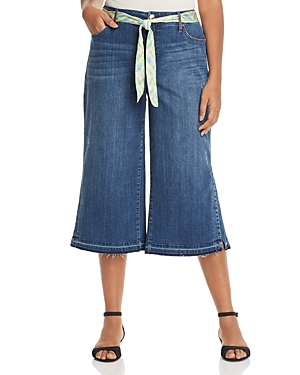 Seven7 Jeans Plus Belted Culotte Jeans in
