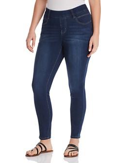 JAG Jeans Plus - Bryn Skinny Legging Jeans in Medium Indigo