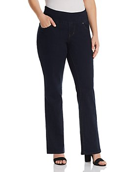 JAG Jeans Plus - Paley Bootcut Jeans in Indigo