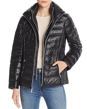 Michael Michael Kors Packable Short Down Coat-Women