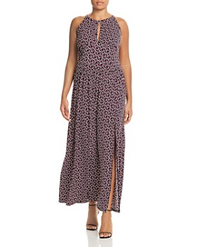 395cf7b42de MICHAEL Michael Kors Plus - Mod Printed Maxi Dress ...