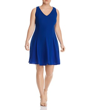 0da118a34e Maree Pour Toi Plus - Fit-and-Flare Dress ...