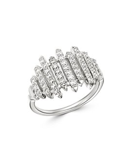 Bloomingdale's - Diamond Linear Bar Band in 14K White Gold, 0.55 ct. t.w. - 100% Exclusive
