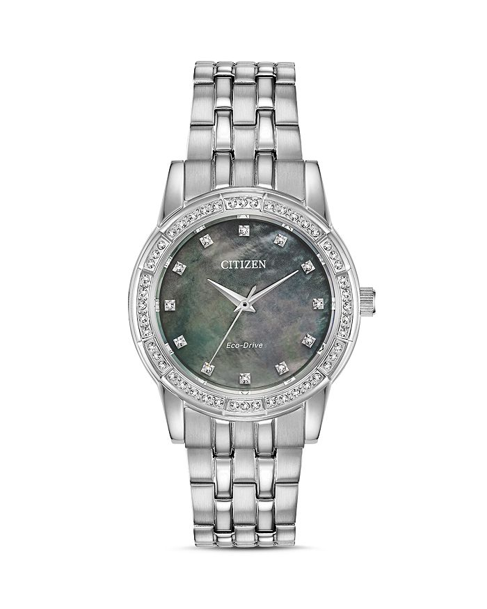 Citizen - Silhouette Crystal-Embellished Watch, 31mm