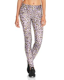 Terez - Cheetah Print Leggings