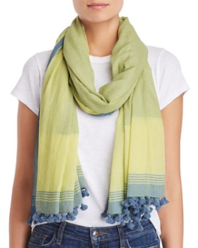 Eileen Fisher - Organic Cotton Tassel Scarf