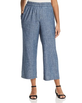 Eileen Fisher Plus - Straight Pull-On Pants