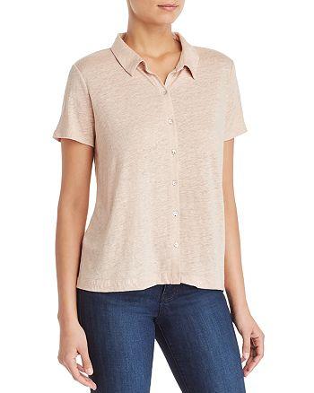 Eileen Fisher - Organic Linen Short-Sleeve Shirt