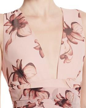 SAU LEE - Julia Floral Print Dress