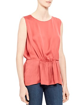 afaf761b4d0 Theory Silk Blouse - Bloomingdale's