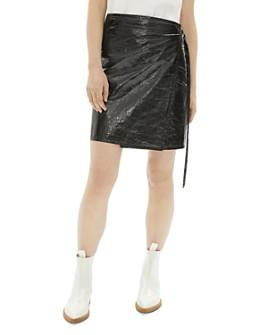 Helmut Lang - Mylar Wrap Skirt