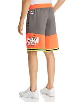 PUMA - Luxtg Color-Block Basketball Shorts